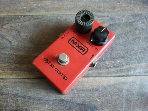 1979 MXR Dyna Comp Vintage Compressor (Made in the USA)