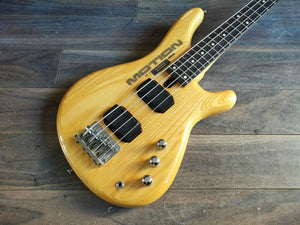 1980's Yamaha Japan Motion B MB-III Short Scale Bass (Natural)
