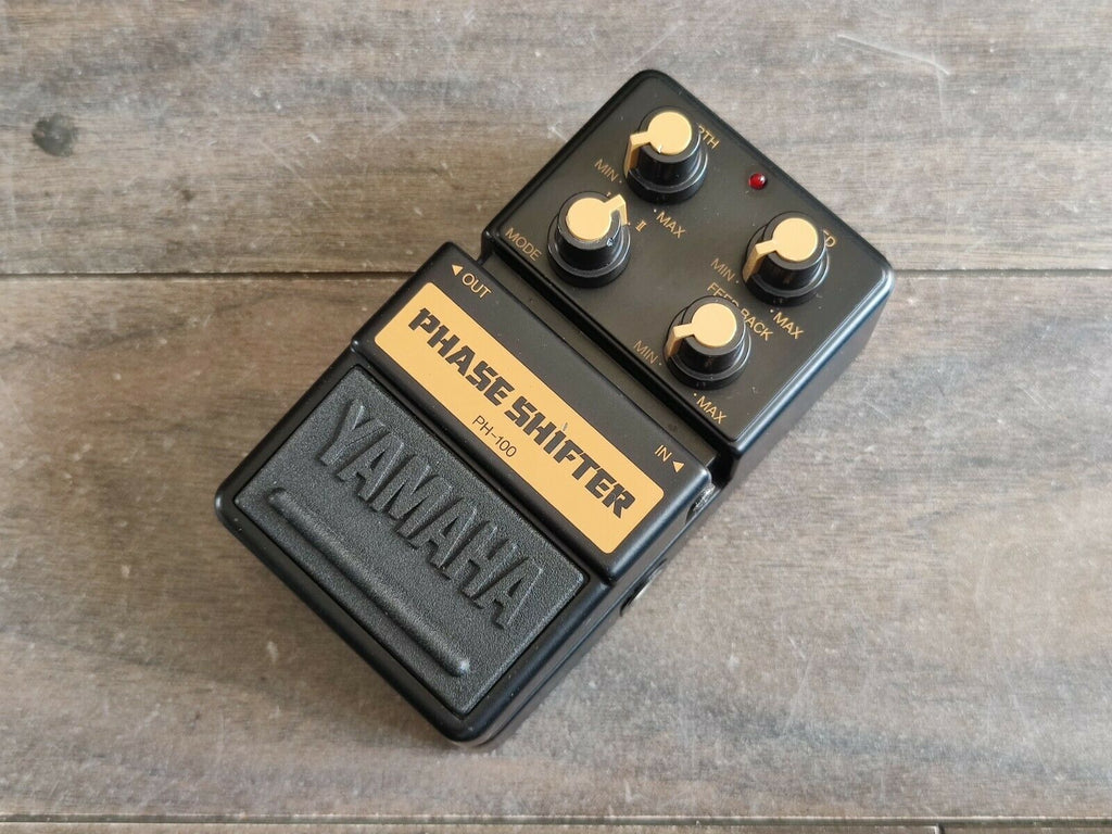 1980's Yamaha PH-100 Phase Shifter Phaser Effects MIJ Japan Pedal