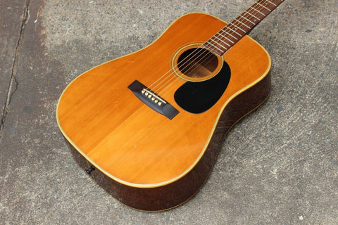 1974 Vintage Morris W-18 Terada Acoustic Guitar (Made in Japan)
