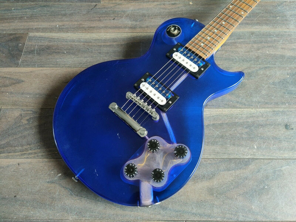 1990's Barclay Les Paul (Purple Lucite/Acrylic)