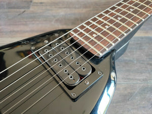 1984 Greco GTV-60 Tusk Flying V (Made in Japan) Black w/Gigbag