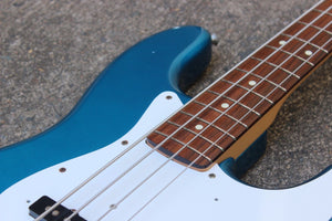 1999 Fender Japan Jazz Bass MIJ (Lake Placid Blue)