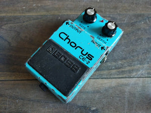 1982 Boss CE-2 Analog Chorus MIJ Japan Vintage Effects Pedal