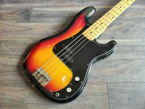 1980 Greco Japan PB-450 Spacy Sound Precision Bass MIJ (Sunburst)