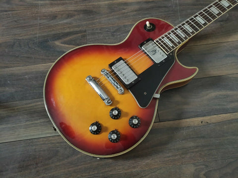 1978 Greco Japan EG-500C Les Paul Custom (Cherry Sunburst)