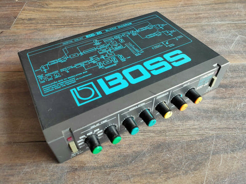 1980's Boss RDD-20 Modulated Digital Delay MIJ Japan Vintage Effects Rack