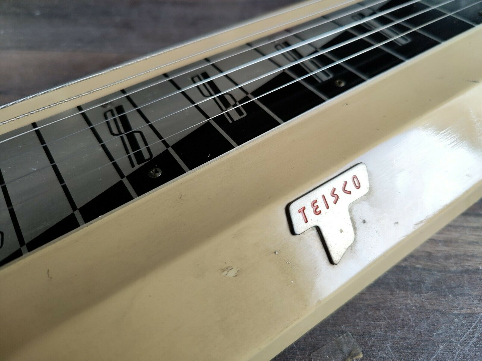 1960's Teisco Japan Model RH Lap Steel Slide Guitar w/Onboard Amplifier