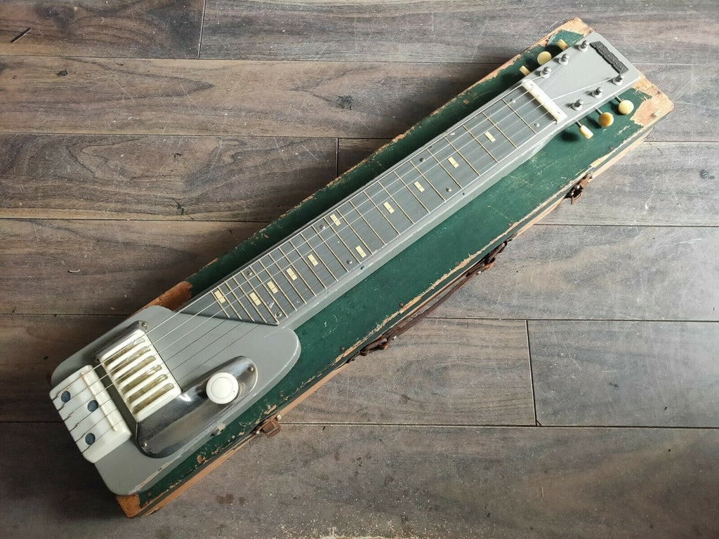 1960's Teisco Japan Model Z 6-String Lap Steel Slide Guitar