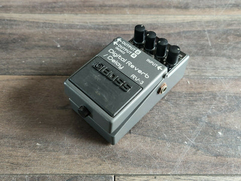 1997 Boss RV-3 Digital Reverb/Delay Effects Pedal