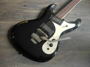 1970's Chatter Japan Mosrite Avenger Style Vintage Guitar (Made in Japan)