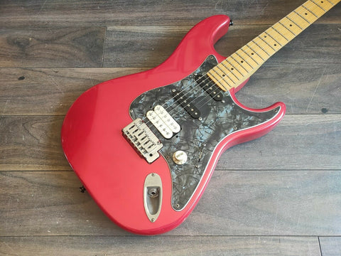 1988 Fender Japan STS55 Order Made Medium Scale Stratocaster (Red)