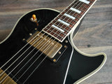 1999 Burny RLC-75 Les Paul Custom (Made in Japan) Ebony