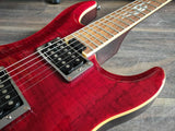 Yamaha RGX520FZ Flame Maple (Trans Red)