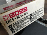 1980's Boss DRP-III Dr Pad Vintage Drum Machine w/Box