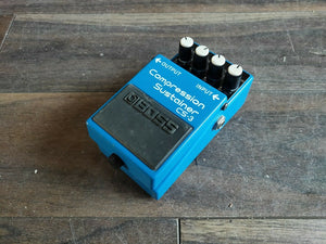 2002 Boss CS-3 Compression Sustainer Effects Pedal