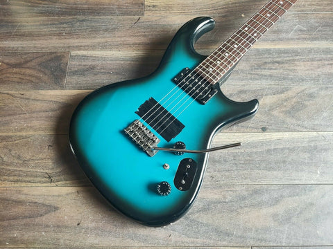 1982 Aria Pro II Inazuma-V (Black Blue Sunburst) - Made in Japan