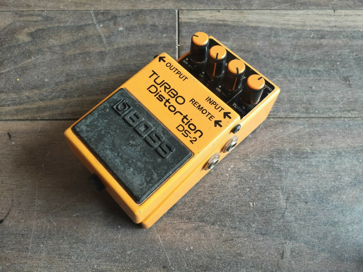 1997 boss ds 2 turbo distortion vintage effects pedal mojo stompboxes. Black Bedroom Furniture Sets. Home Design Ideas