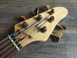 1989 Rockoon (by Kawai) RB-855 Fretless 5-String Bass Guitar (Made in Japan)