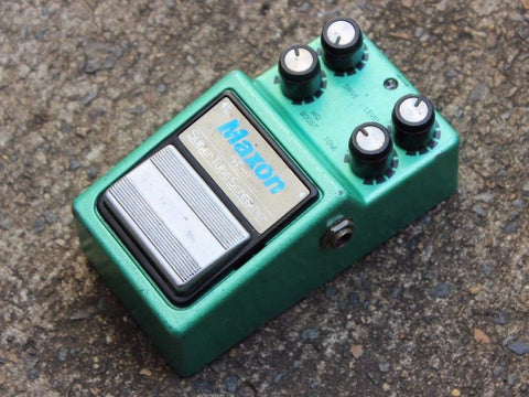 1984 Maxon ST-9 Super Tubescreamer MIJ Japan Effects Pedal