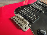 1984 Squier Japan SST314H-55 JV Series HSS Contemporary Stratocaster (Red)