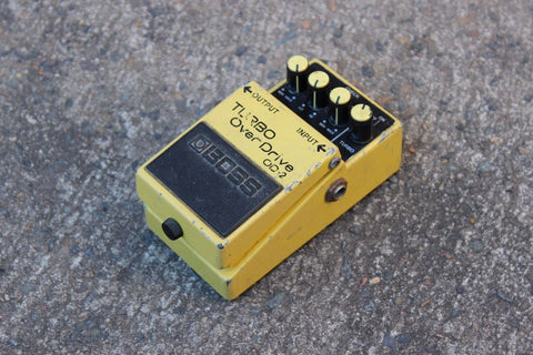 1990 Boss OD-2 Turbo Overdrive Vintage Effects Pedal