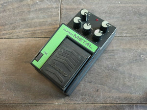 1980's Ibanez SML Super Metal Distortion MIJ Japan Effects Pedal
