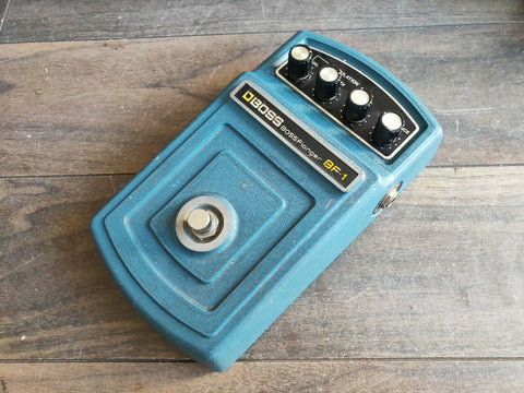 1970's Boss BF-1 Flanger MIJ Japan Vintage Effects Pedal