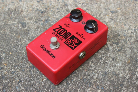 1970's Guyatone PS-102 Zoom Box Distortion MIJ Japan Vintage Effects Pedal