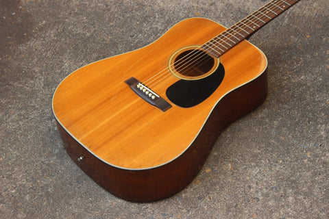 1973 Morris W-15 Acoustic Western Guitar (Made in Japan)