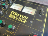 1980's Maxon RM60 Channel Stereo Vintage Mixer