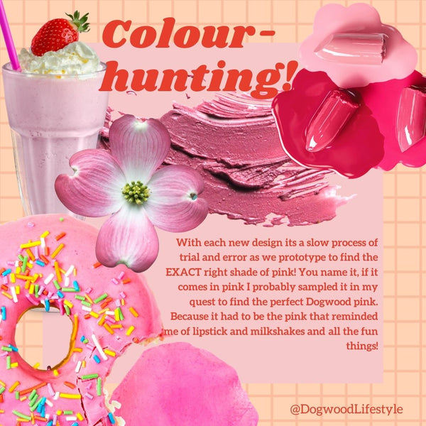 Colour Hunting - How we Chose the Perfect Pink