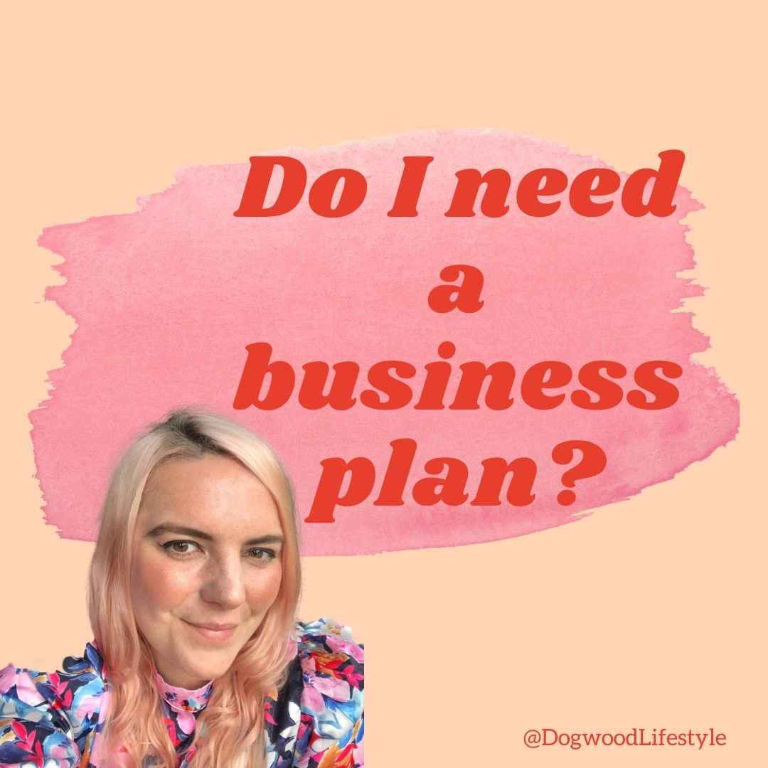Do I need a business plan title topic in red text on peach backgroud with photo of the author