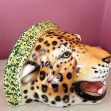 Load image into Gallery viewer, NEW 'Diana' Ceramic Leopard Statue Wall Shelf