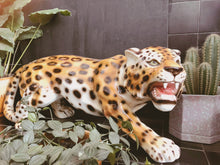 Load image into Gallery viewer, NEW 'Donny' Extra Large Prowling Ceramic Leopard Statue