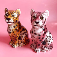 Load image into Gallery viewer, NEW 'Baby Fred' Mini Classic Ceramic Leopard Statues Vintage