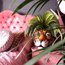 Load image into Gallery viewer, 'Pickle' XL Classic Tiger Ceramic Planter