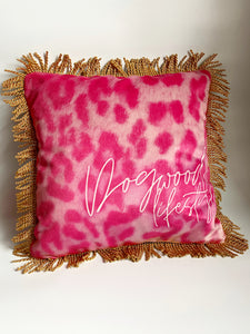 NEW 'Peace & Love' Dogwood Lifestyle Exclusive Luxury Cushion