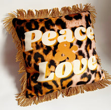Load image into Gallery viewer, NEW 'Peace & Love' Dogwood Lifestyle Exclusive Luxury Cushion