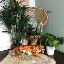 Load image into Gallery viewer, PRE ORDER 'Audrey' XL Prowling Ceramic Tiger