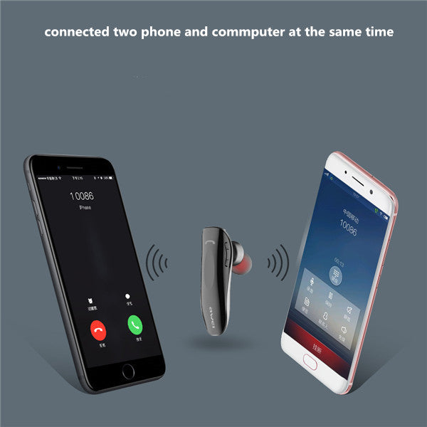 Casti de telefon cu Bluetooth multipoint, o singura casca de ureche, model business