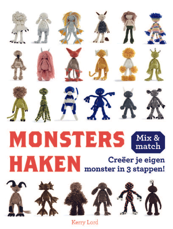 Monsters haken Mix & match
