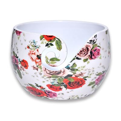 Durable aluminium yarn bowl (2 varianten)