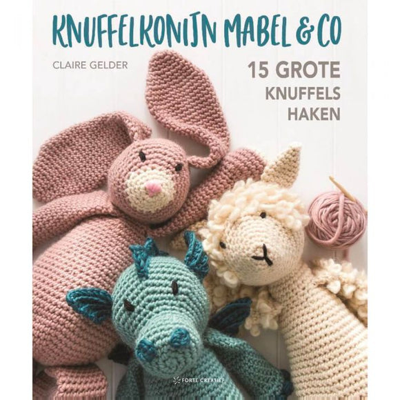 Knuffelkonijn Mabel & co