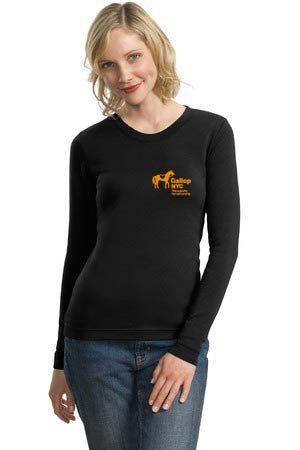 GallopNYC Long sleeve women's tee