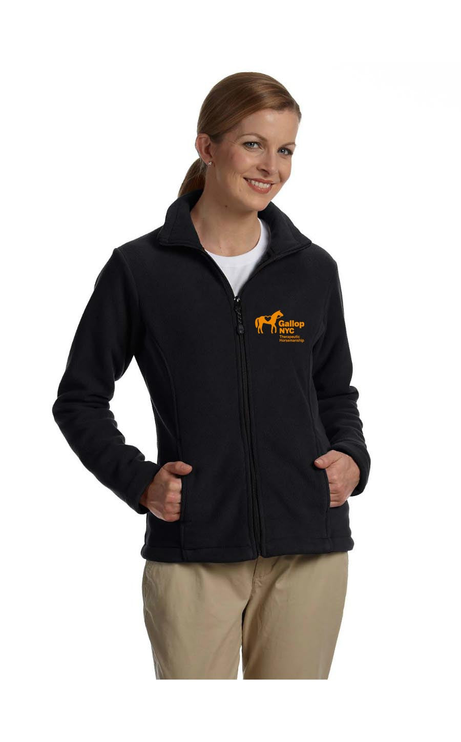 GallopNYC Zipup ladies' fleece
