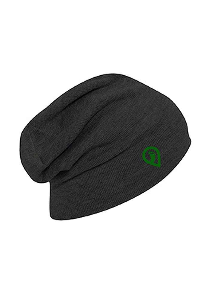 Pledgerunner Heather Black Slouch Beanie