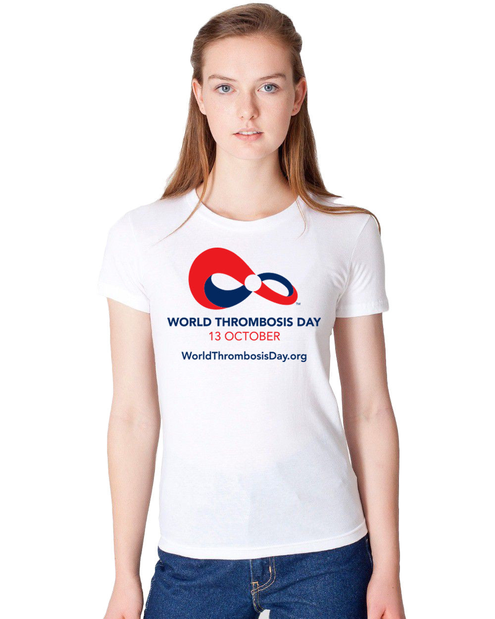 WTD Ladies Tee - White