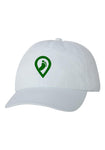 Pledgerunner White Unstructured Cap