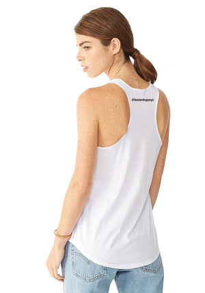 Foster Dogs Ladies' White Tank Top